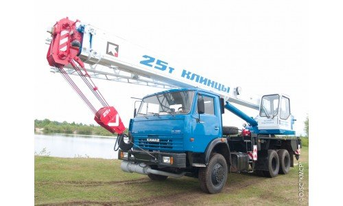 КС-55713-1К-2 «Клинцы» на базе шасси КамАЗ-65115 (6 х 4)