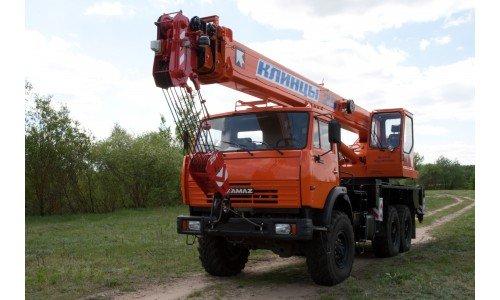 КС-55713-5К-3 «Клинцы» на базе шасси КамАЗ-43118 (6 х 6)
