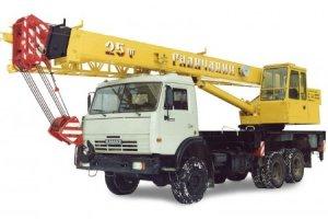КС-55713-4 «Галичанин» на базе шасси КамАЗ-53228 (6 х 6)