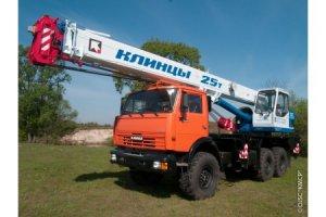 КС-55713-5К-2 «Клинцы» на базе шасси КамАЗ-43118 (6 х 6)