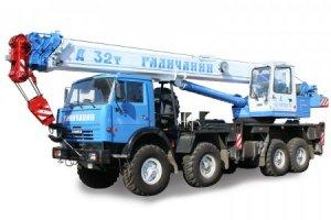 КС-55729-5B «Галичанин» на базе шасси КамАЗ-63501 (8 х 8)