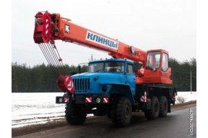 КС-55713-3К-2 «Клинцы» на базе шасси Урал-5557 (6 х 6)