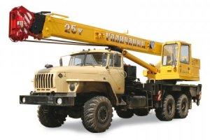 КС-55713-3 «Галичанин» на базе шасси Урал-4320 (6 х 6)