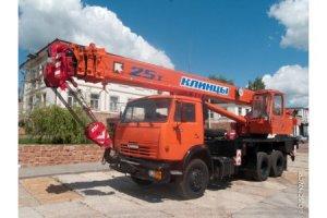 КС-55713-1К-3 «Клинцы» на базе шасси КамАЗ-65115 (6 х 4)